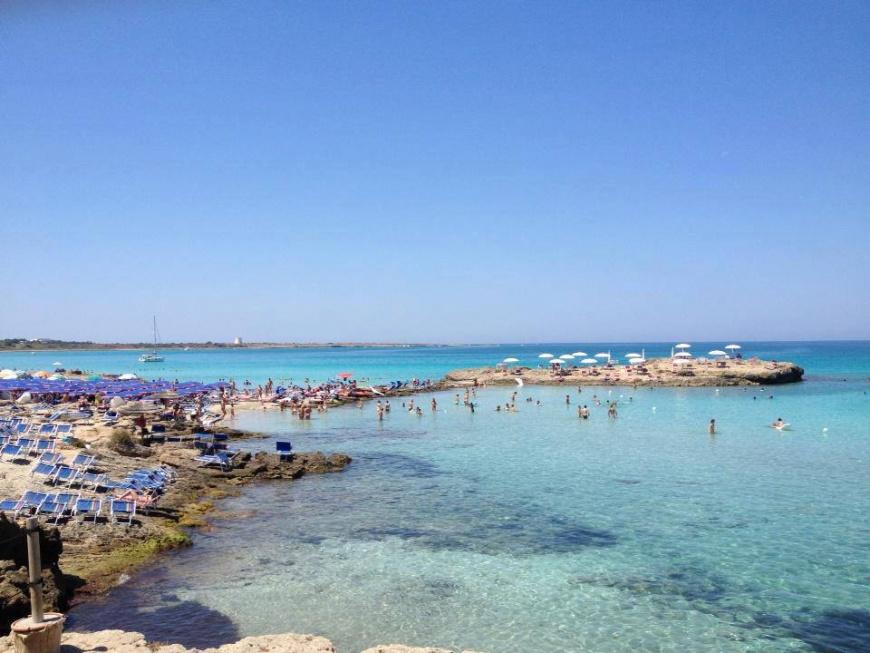 Punta della Suina: vacanza al mare a Gallipoli